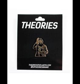 Theories Rasputin Enamel Pin