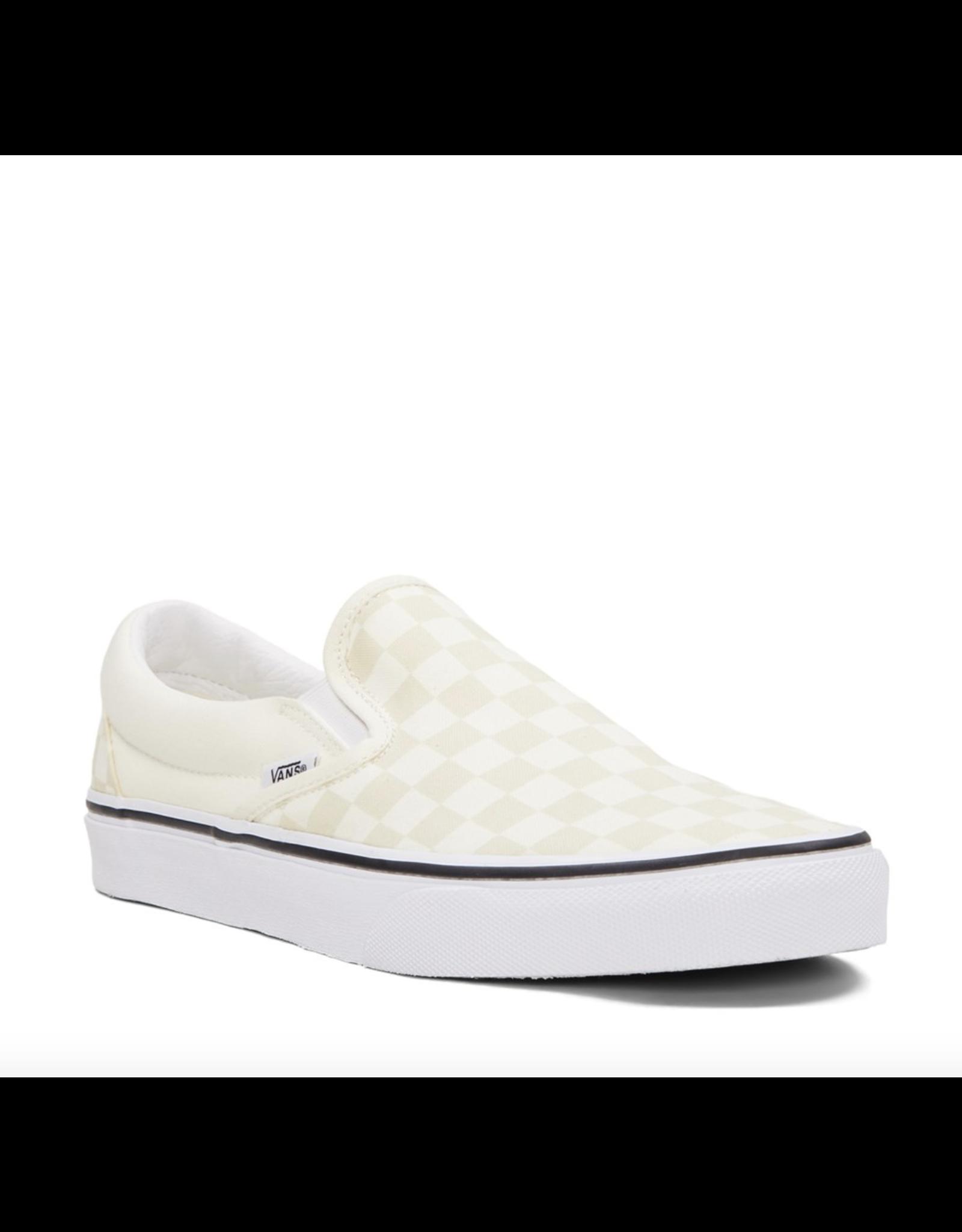 Vans Classic Slip-On - Classic White Checkerboard
