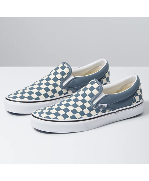 Classic Slip-On - Blue Mirage Checkerboard