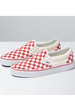 Vans Classic Slip-On - Red Checkerboard