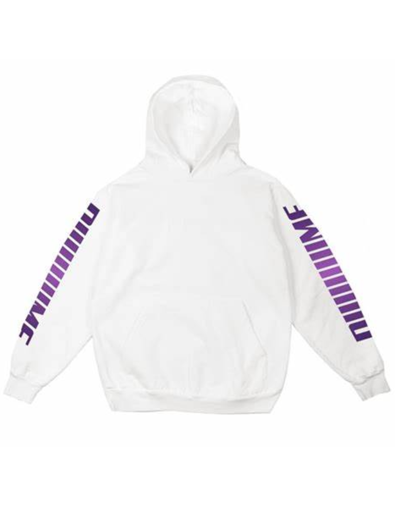 Dime Screaming hoodie - White