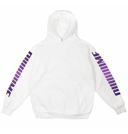 Dime Screaming hoodie - White