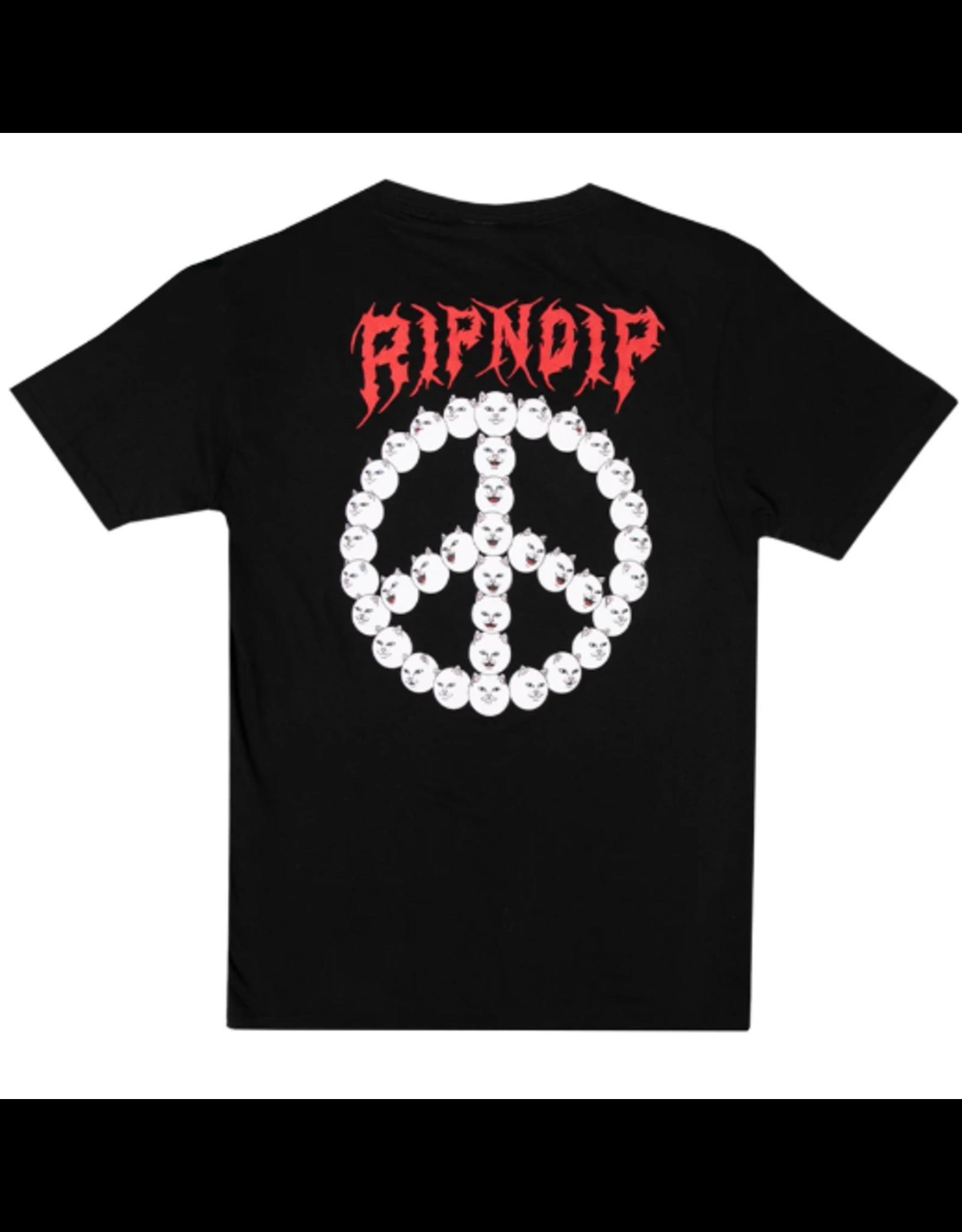 RIPNDIP Expression T-Shirt - Black