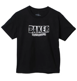 Baker Youth Brand Logo Tee - Black