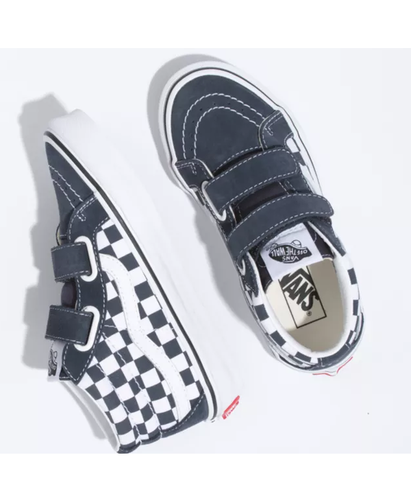 Youth Sk8-Mid Reissue V - Checkerboard