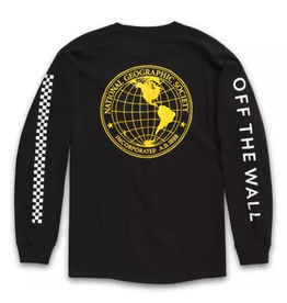 Vans x National Geographic Globe Longsleeve - Black