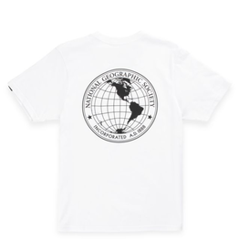 Vans x National Geographic Globe T-Shirt - White