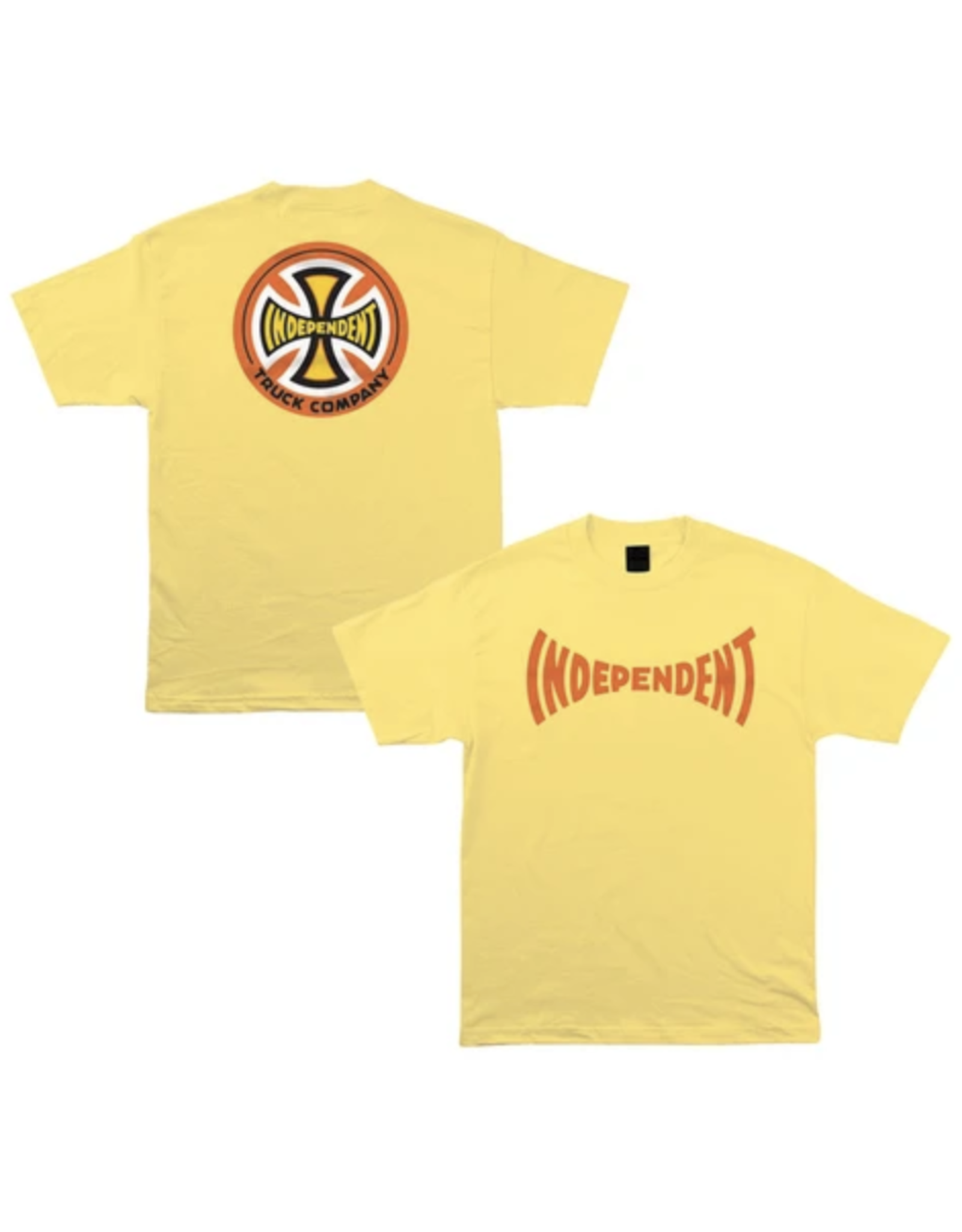 Independent Chroma T-Shirt - Yellow