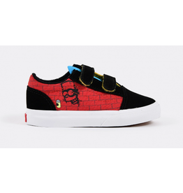 Vans The Simpsons Youth / Toddler Old Skool V El Barto - Red