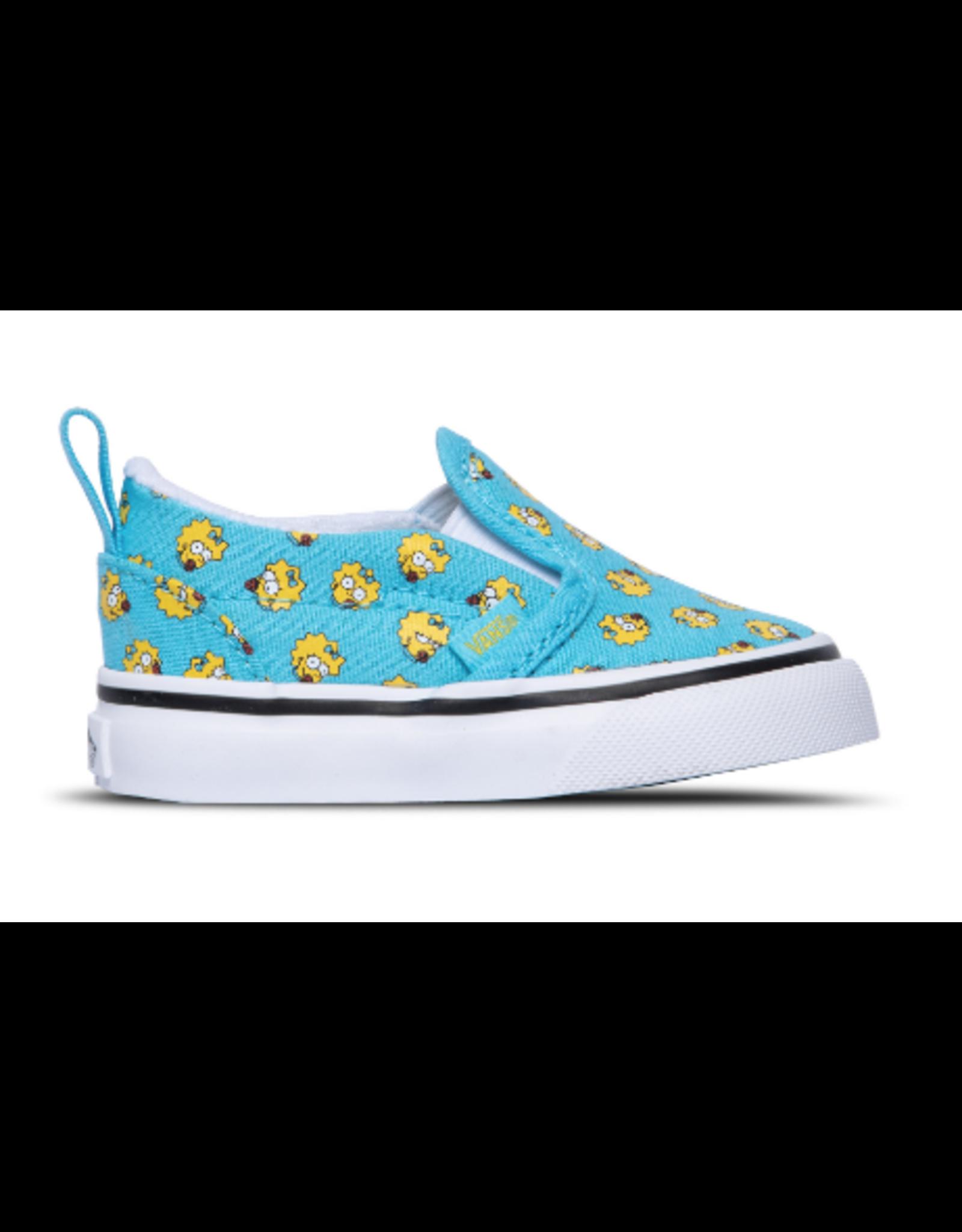 Vans The Simpsons Toddler Slip-On V Maggie - Blue