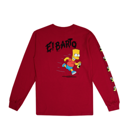 Vans The Simpsons El Barto T-Shirt - Red
