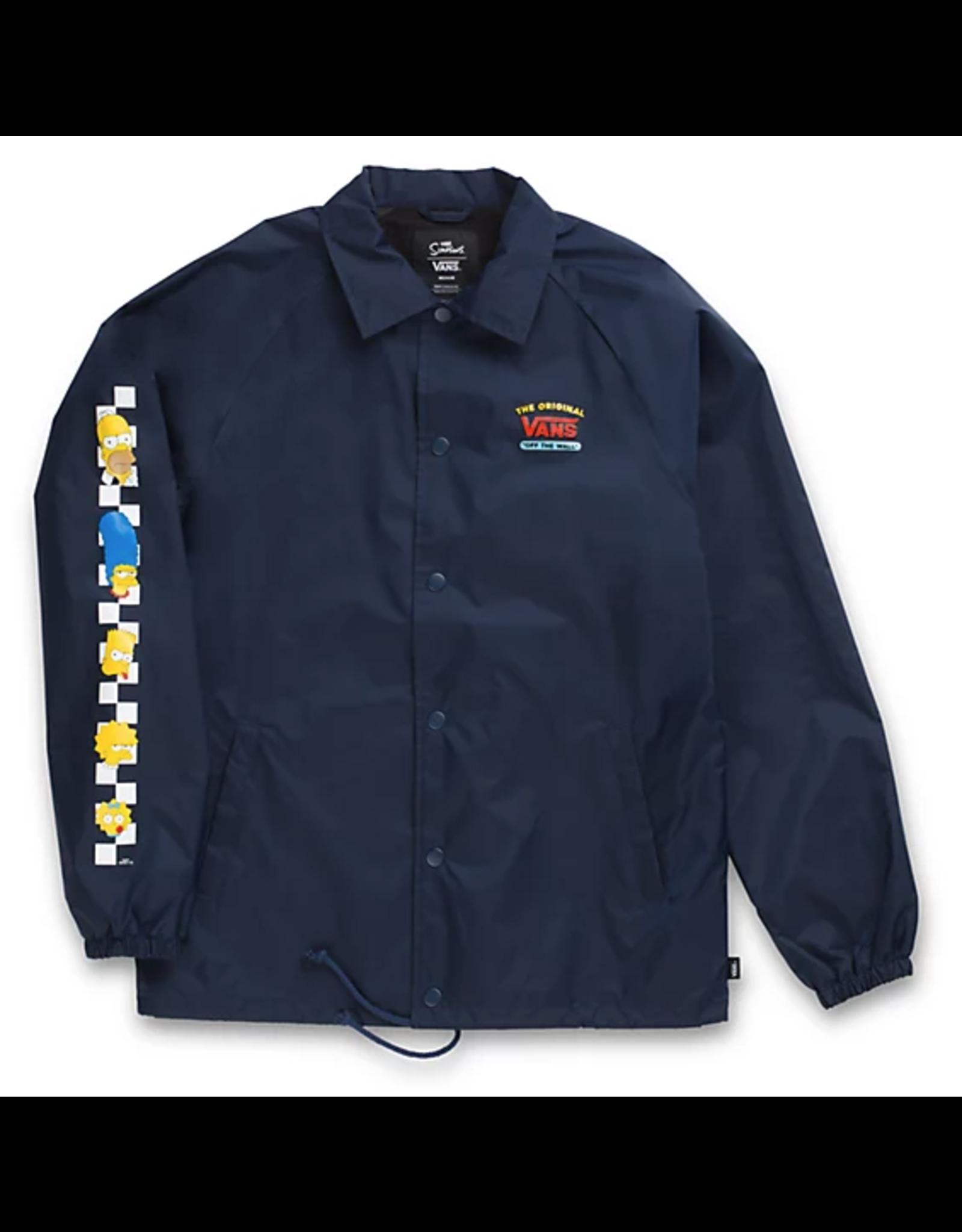 Vans The Simpsons Torrey Jacket - Navy
