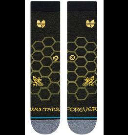 Stance Wu-Tang Hive Crew Socks - Black