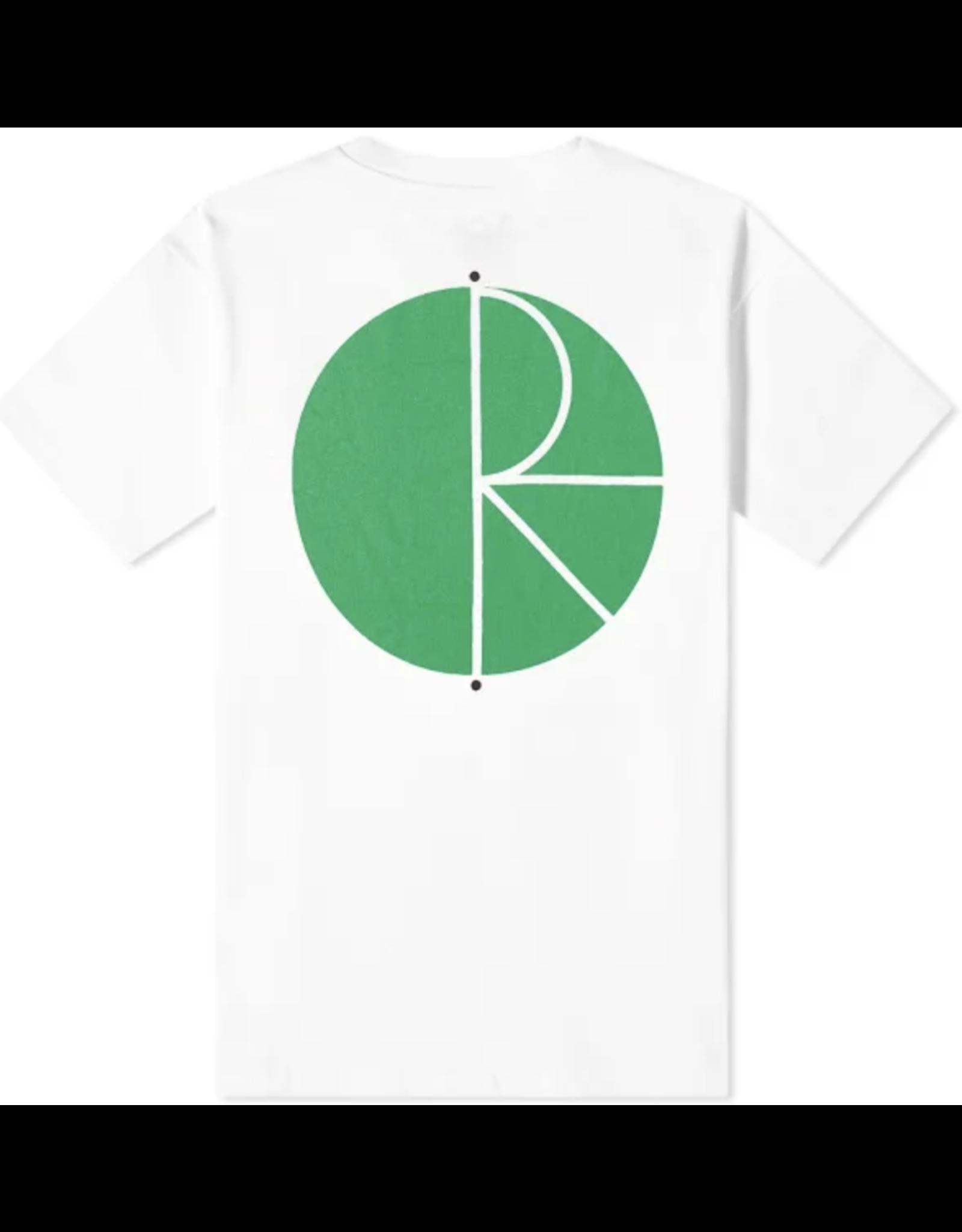 Polar Fill Logo Tee - White/Green