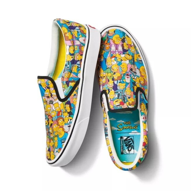 "Vans launches its new collection ""The Simpson x Vans"""