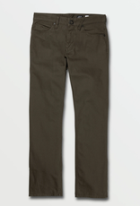 Volcom Solver 5 Pocket Slub Pants - Lead