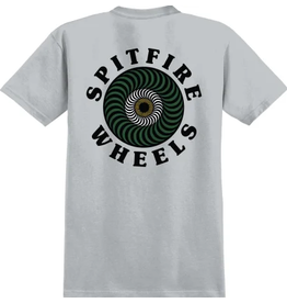 Spitfire Og Classic Swirl Fill Tee - Silver