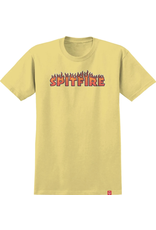 Spitfire Flash Fire Tee - Banana