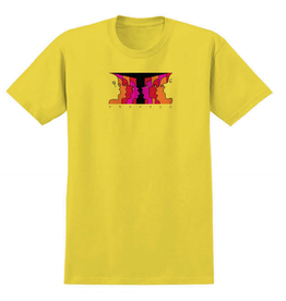 Krooked Face Off Tee - Yellow