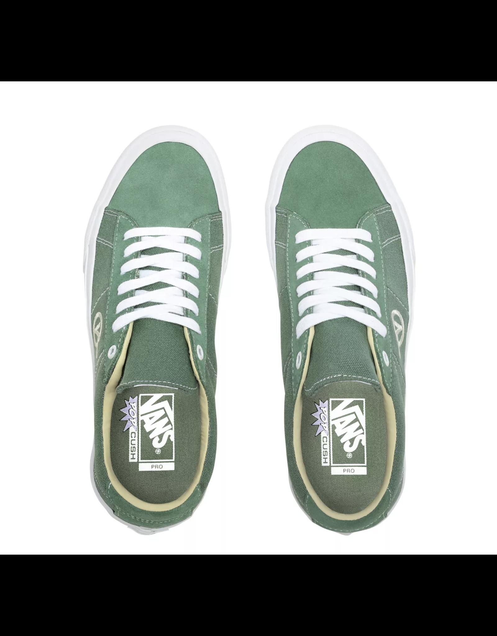 Vans Saddle Sid Pro Shoes - Hedge Green