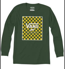 Vans Print Box Longsleeve Boys - Pine/Lemon