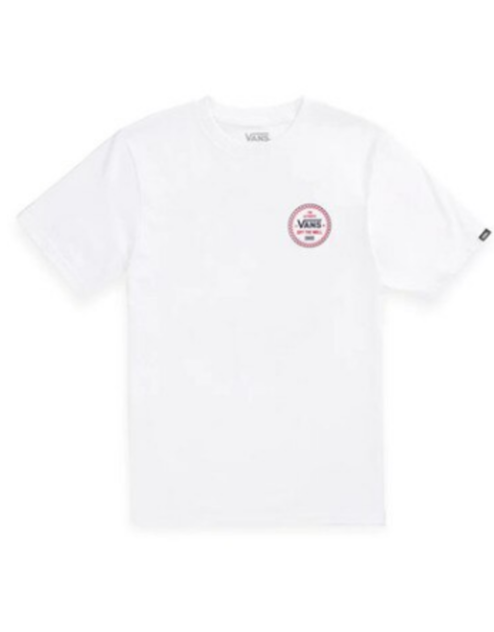 Vans Checker 66 Tee Boys - White