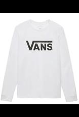 Vans Boys Classic Longsleeve - White