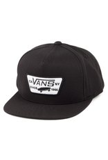 Vans Full Patch Snapback - True Black