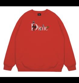 Dime Dog Classic Logo Crewneck - Red