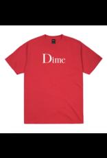 Dime Classic Logo T-Shirt - Tomato