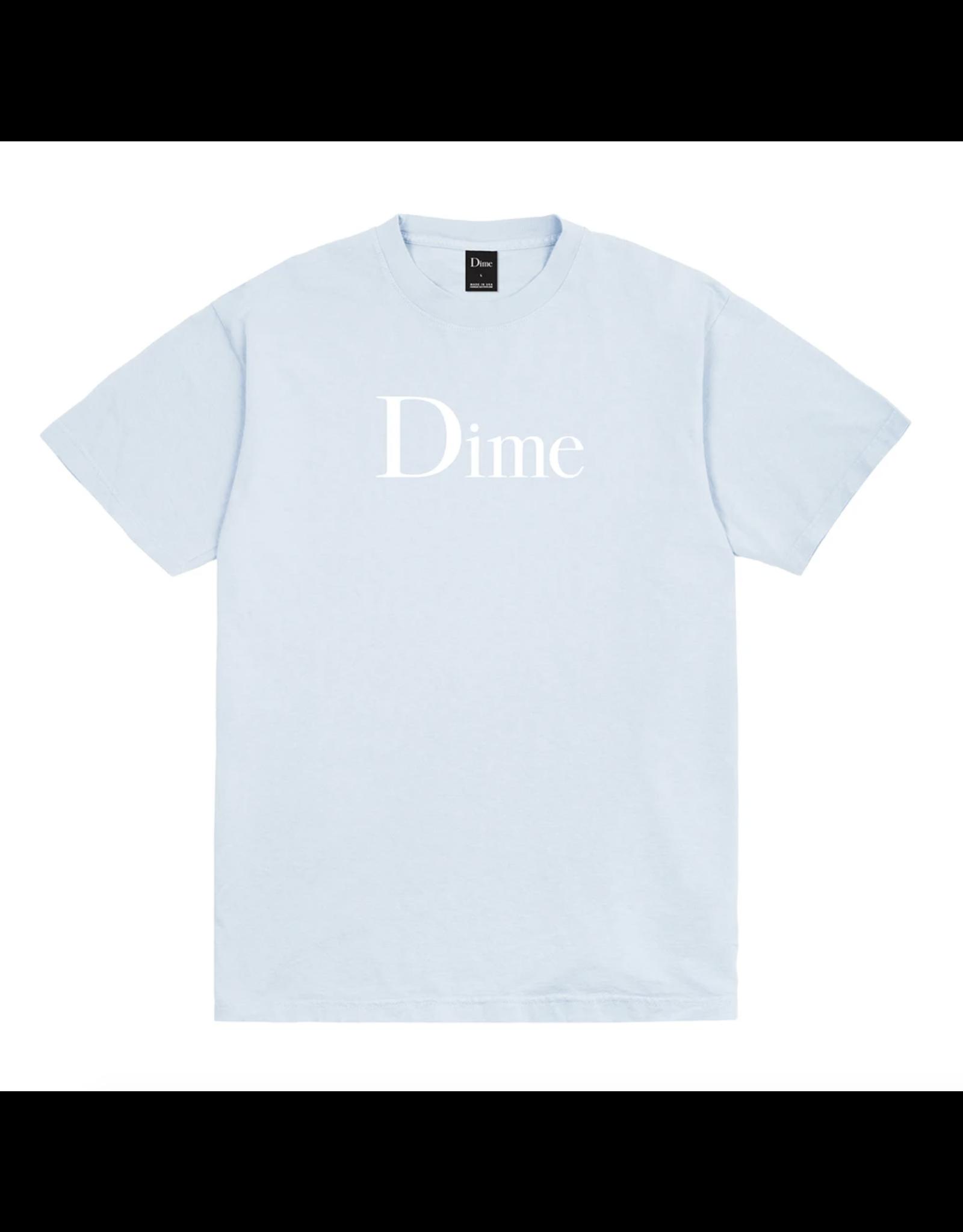 Dime Classic Logo T-Shirt - Light Blue
