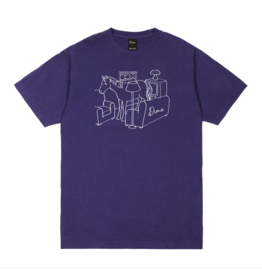 Dime Horse T-Shirt - Purple