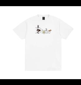 Dime Dog Classic Logo T-Shirt - White
