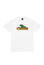 Dime Lizard T-Shirt - White