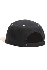 Huf Huf 98 Logo 6 Panel Hat - Black