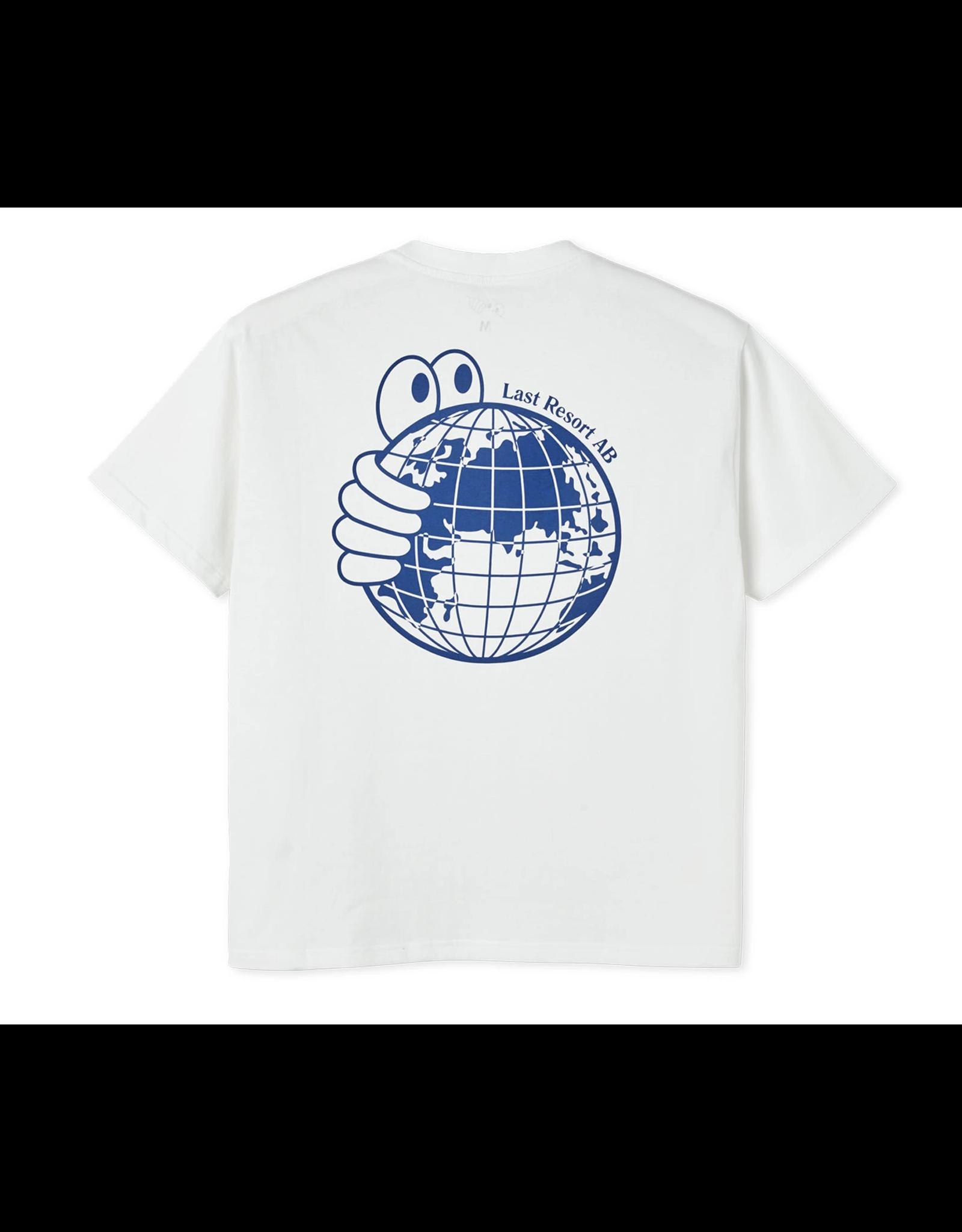Last Resort AB World Tee - White/Blue