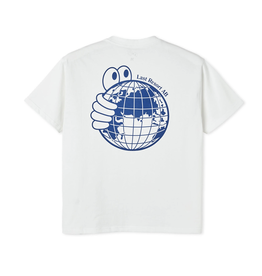 Last Resort AB World Tee - White/Blue