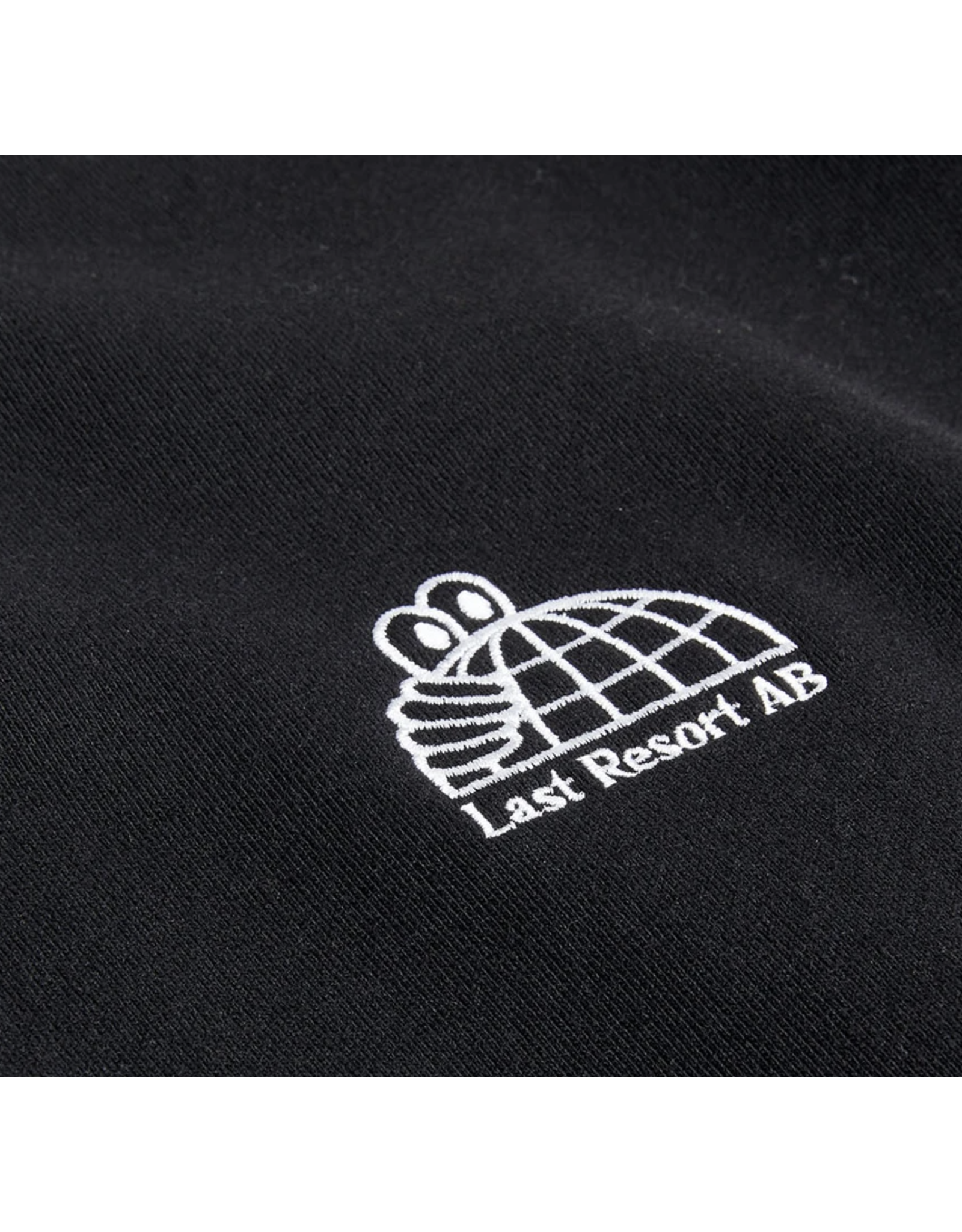 Last Resort AB Half Globe Crewneck - Black