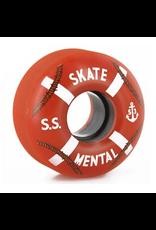 Skate Mental Cruiser Wheels 99A 53mm - Orange