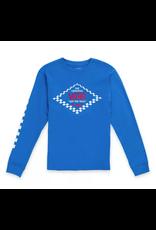 Vans Boy Skate Disjunction Longsleeve - Victoria Blue