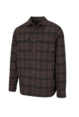 Vans Banfield III Flannel Shirt - Demitasse-Black