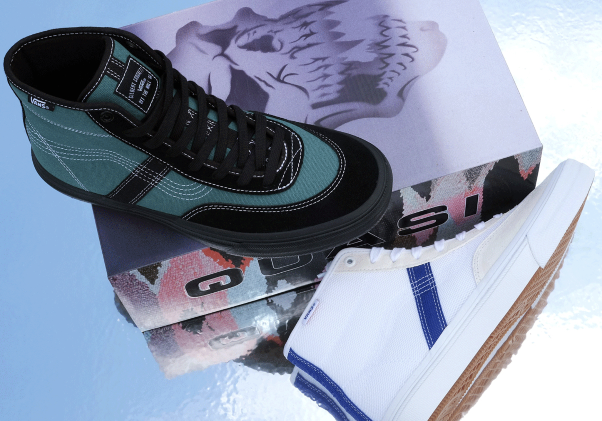 Quasi Skateboards Bring Vintage DNA To A Vans Crockett High Pro Duo
