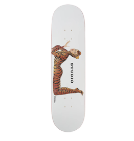 "Studio Wherry Tiger Girl Deck - 8.25"""
