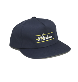 Studio Bars Snapback - Navy