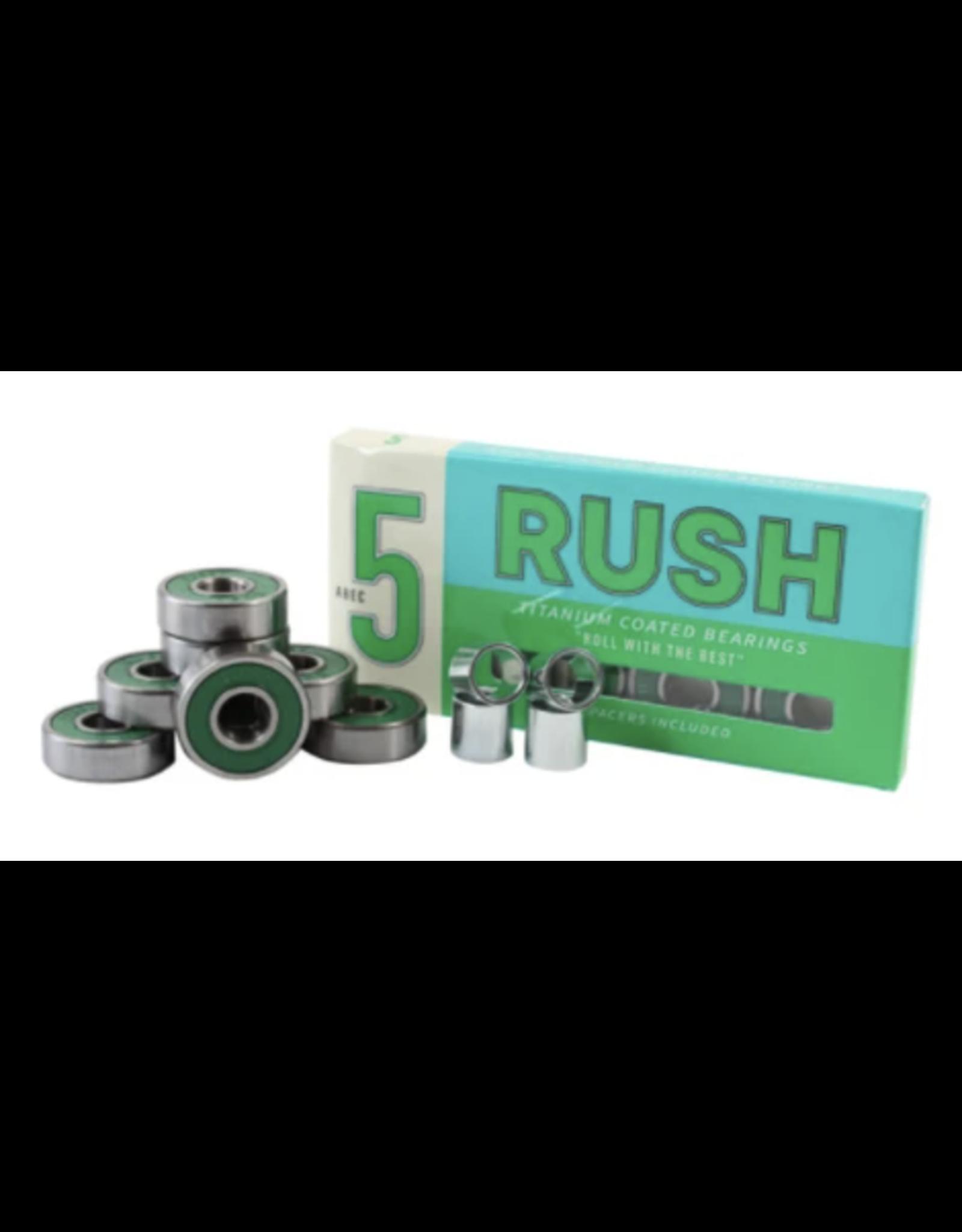 Rush Abec 5 Titanium Coated Bearings