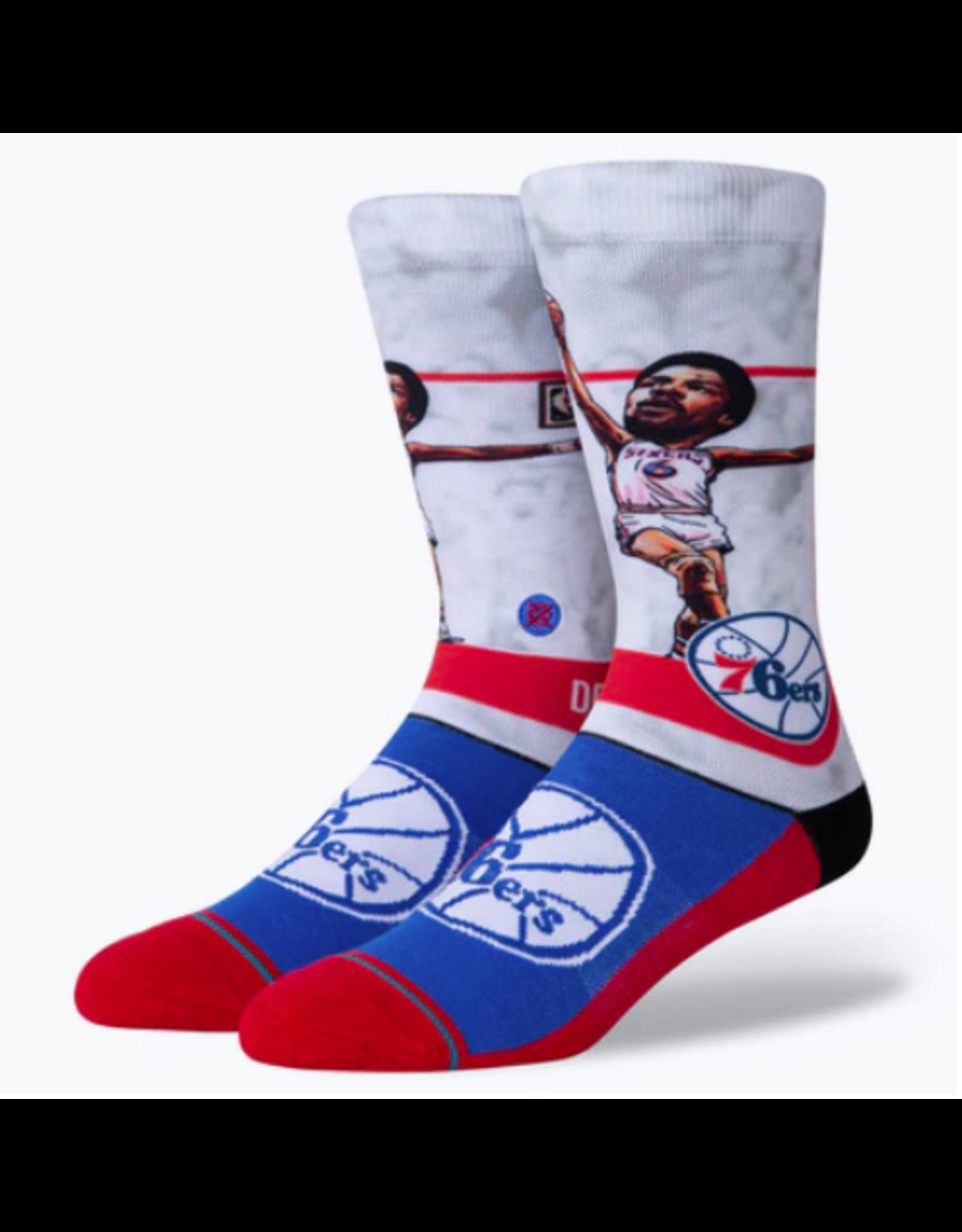 Stance NBA Dr J Big Head - Red