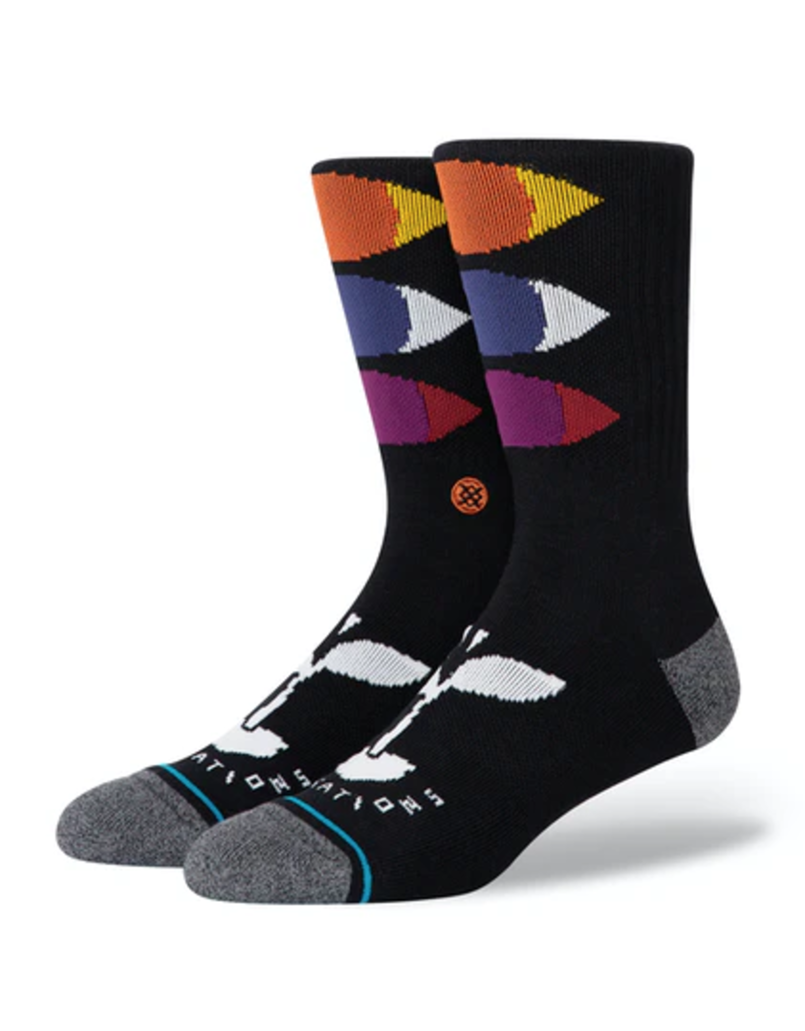Stance Salutations Infiknit Socks - Black