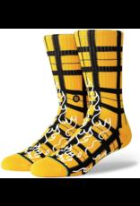 Stance Burning Up Socks - Yellow