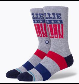 Stance Willie Nelson Stars Socks - Off White