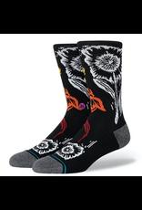 Stance Helix Crew Infiknit Socks - Black